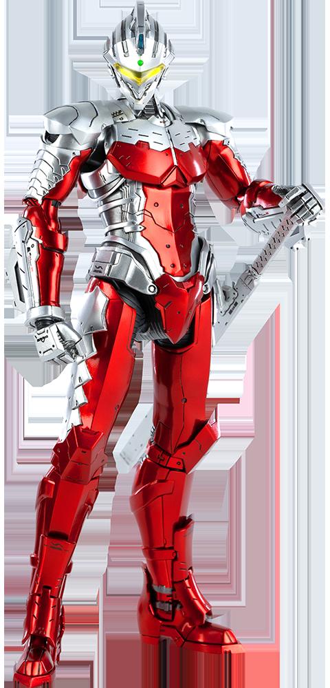 ultraman suit ver7 anime version figura sixth scale colecionaveis sideshow キャラクター スケール ドール