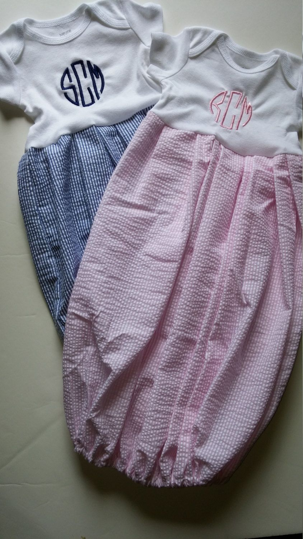 Newborn infant Custom size Boutique Baby layette twins set wholesale ...