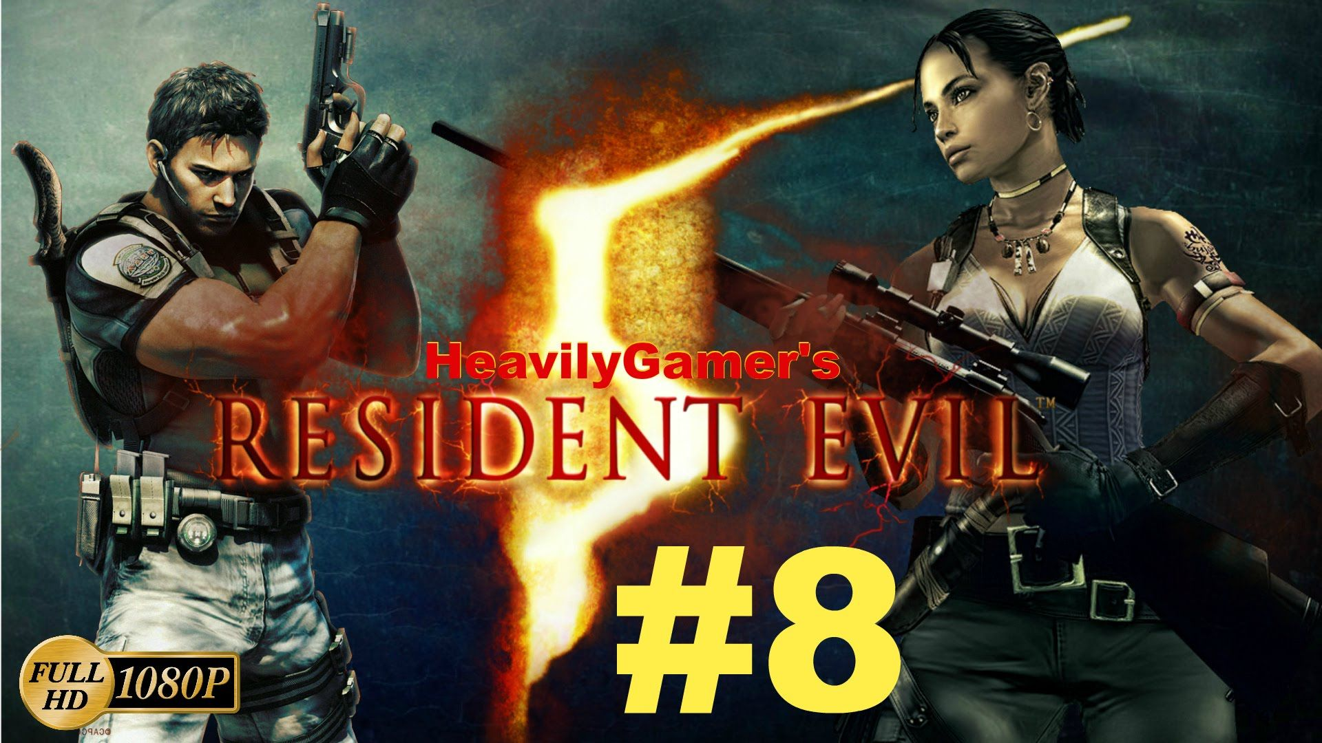 Resident Evil 5 Pc Gameplay Walkthrough Part 8 Caves Lara Croft