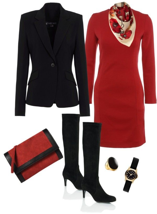 """Black And Red"" by juli67 on Polyvore"