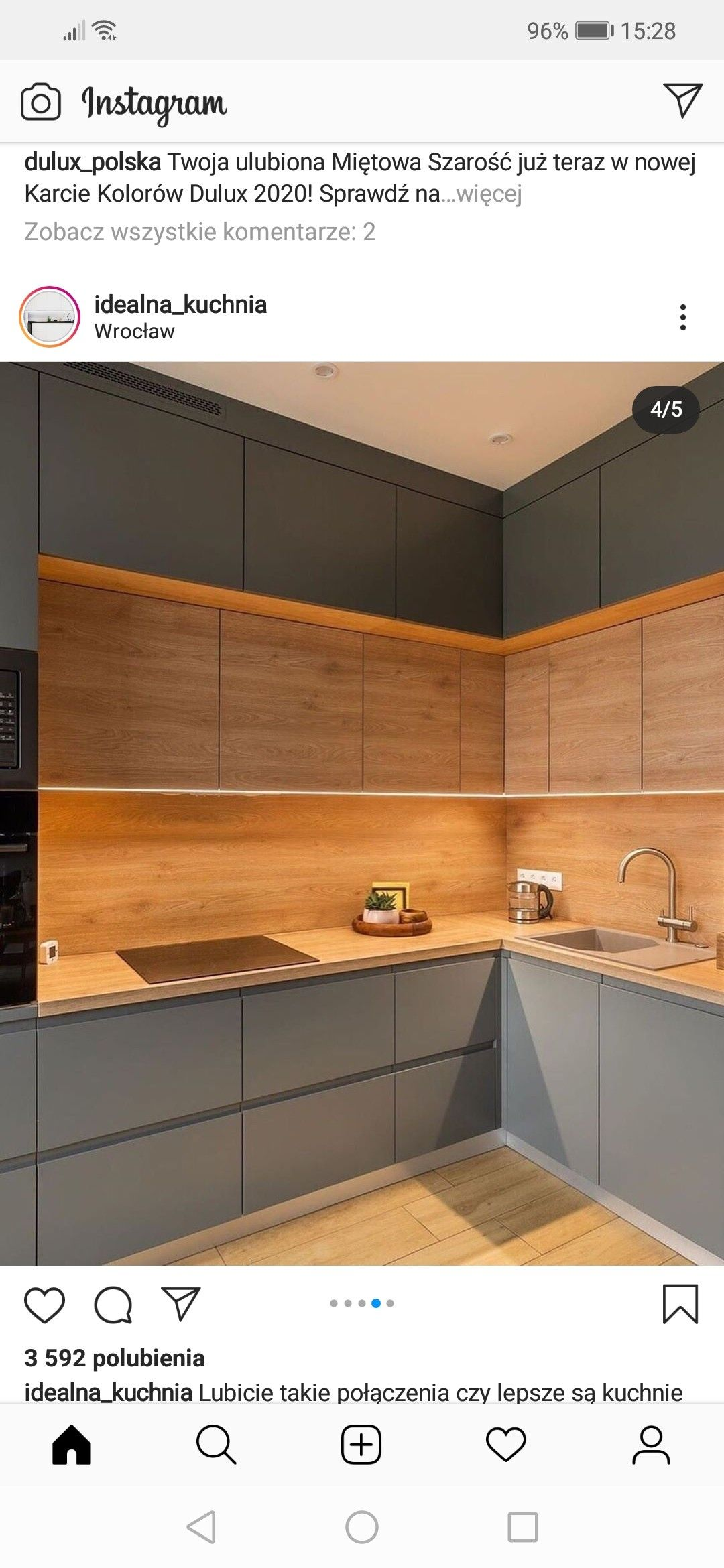 Pin By Justyna On Kuchnia Kitchen Kitchen Cabinets Home