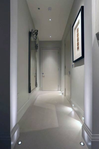 Top 60 Best Hallway Lighting Ideas Interior Light Fixtures Hallway Lighting Recessed Wall Lights Lighting Design Interior