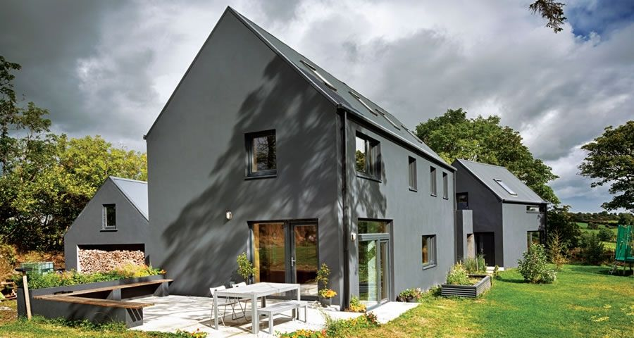 A Quantity Surveyor Deals With Construction Costs For A Living And Shows How It U0027s Done Passive House Design House Designs Ireland Passive House