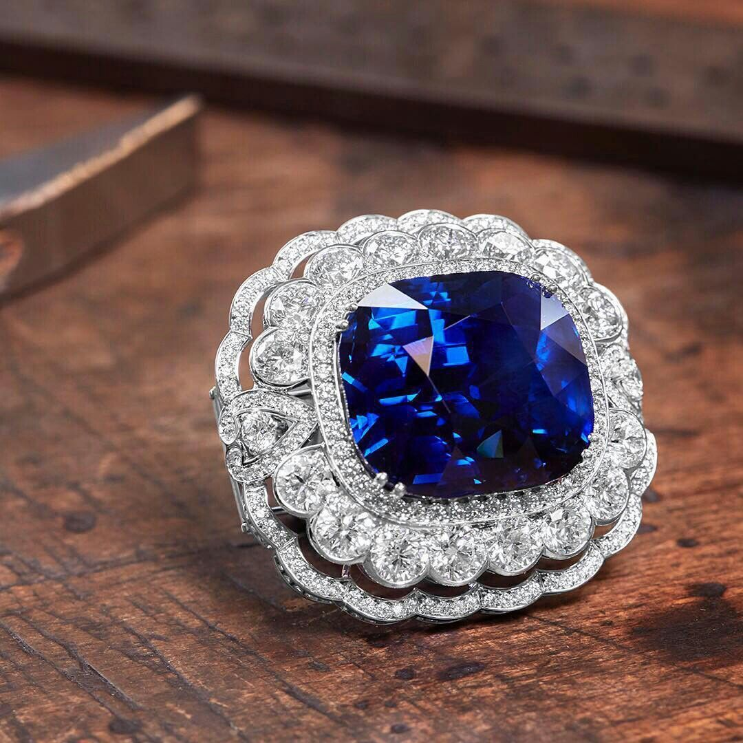 The House of Garrard continues its rich legacy of sapphire