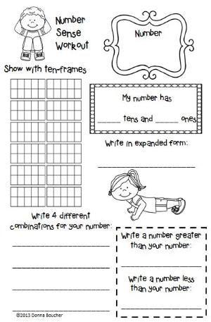 Math Coach's Corner: Number Sense Workout. Shape up your