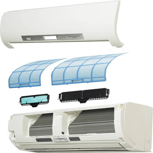 Ductless At Home Heating and air conditioning, Heat pump
