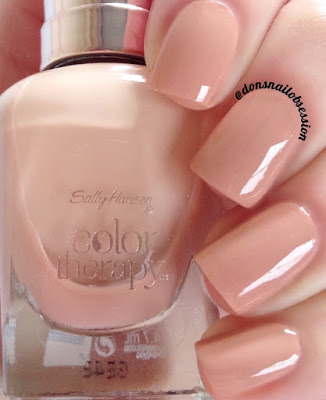 SALLY HANSEN COLOR THERAPY SWATCHES & REVIEW (With