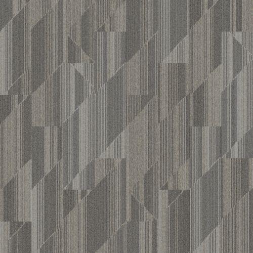 Interface Carpet Tile Driftwood Color Name Linden Installation