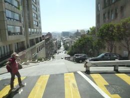 One of the crookedest streets in the world in San Francisco.