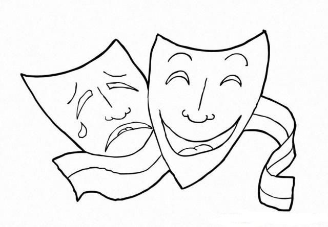 Dunya Tiyatro Gunu 27 Mart Tiyatrolar Boyama Sayfalari Tiyatro