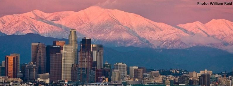 Coldest February In Downtown Los Angeles Since 1962 California Downtown Los Angeles Los Angeles Downtown