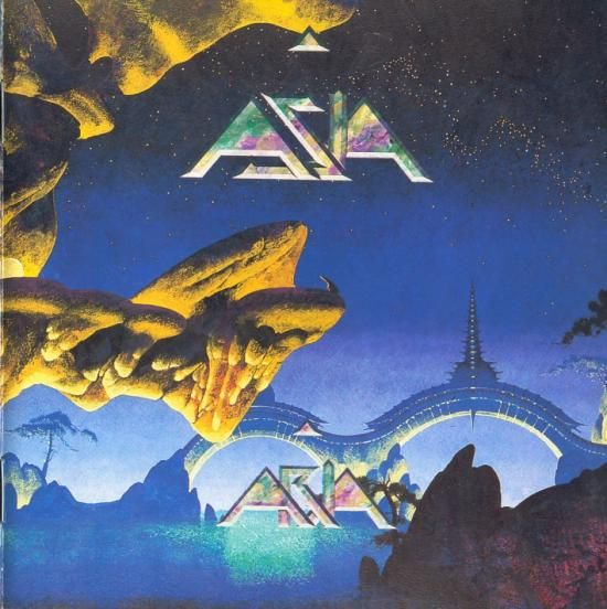 Asia - Asia (1982). Cover Art By Roger Dean