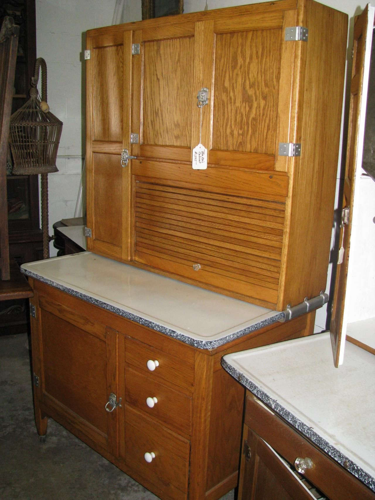 Antique Hoosier Bakers Cabinet | Including yet not limited to,  Hoosiers-Sellers-Napanee - Antique Hoosier Bakers Cabinet Including Yet Not Limited To