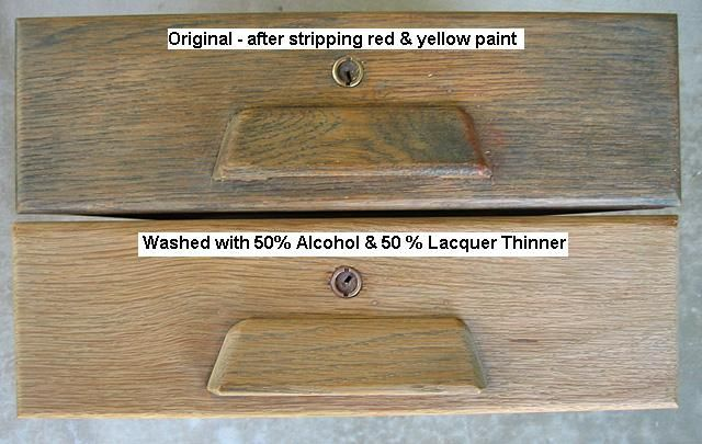 Stripping And Bleaching Oak Bleached Wood Painting Oak Cabinets Stripping Furniture