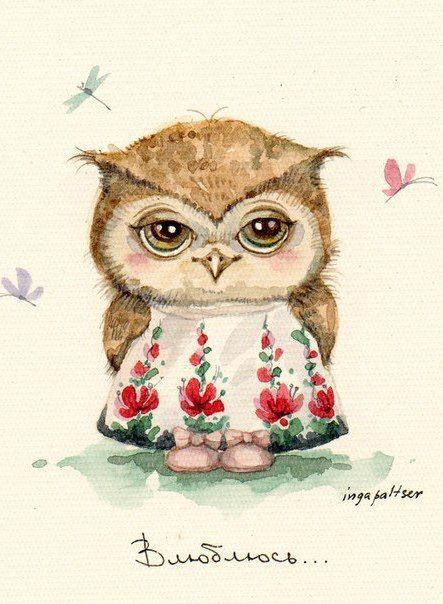 Чучело совы от пользователя Татьяна Баб на доске «Deco ...