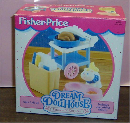 Fisher Price Loving Family Kitchen: Fisher Price Loving Family Dream Dollhouse 1995 Kitchen