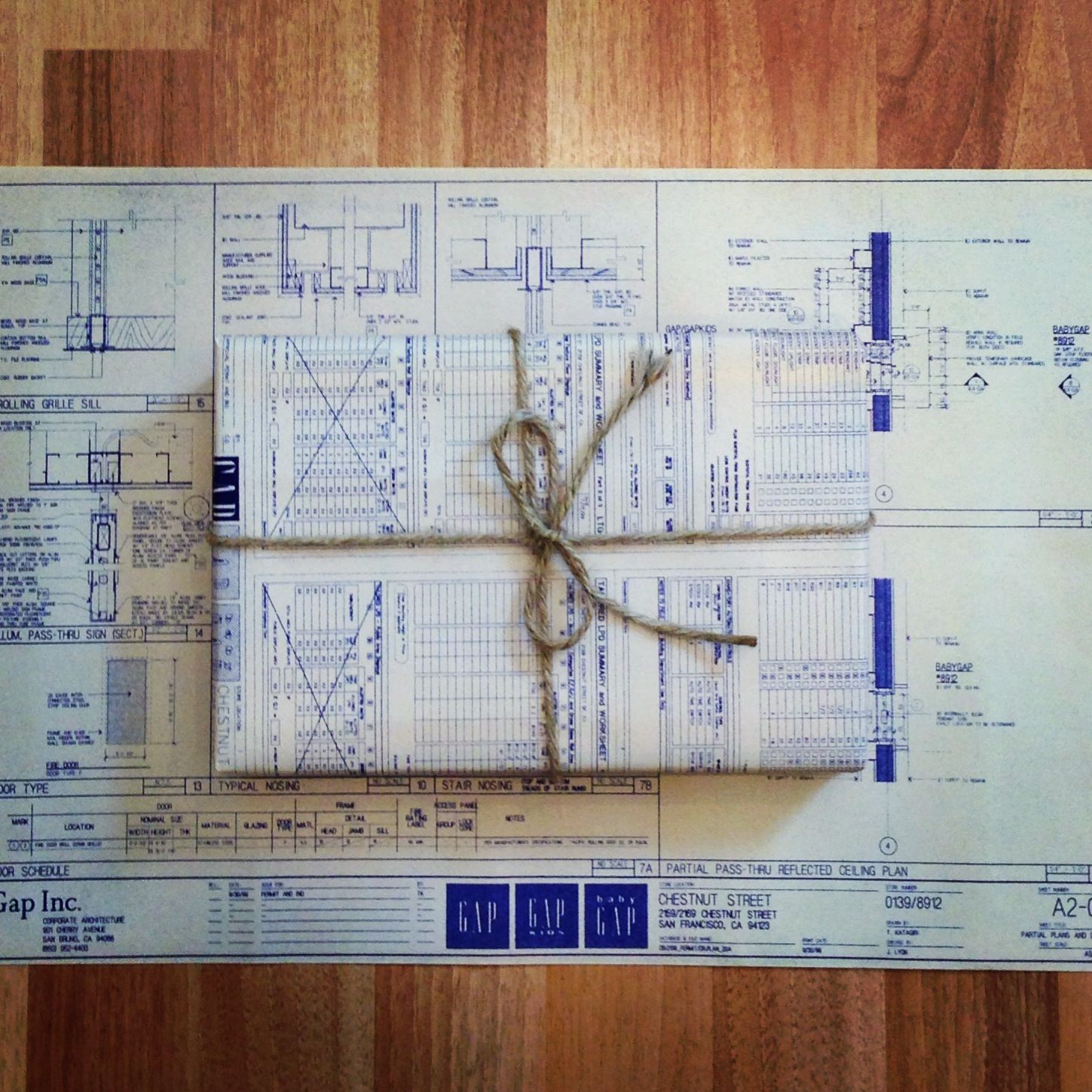 On the blog diy blueprint gift wrap wrap it up pinterest on the blog diy blueprint gift wrap malvernweather Image collections