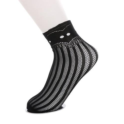 Fashion Sexy Women Lady Soft Black Lace Socks
