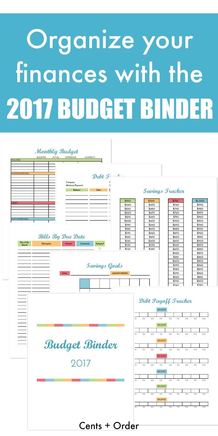 budget binder printable how to organize your finances best money
