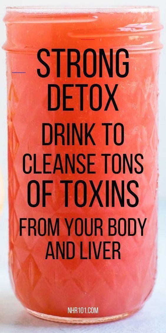 Starkes Detox-Getränk zur schnellen Reinigung Ihrer Leber! - Gesundheit und Fitness ... Starkes Deto...