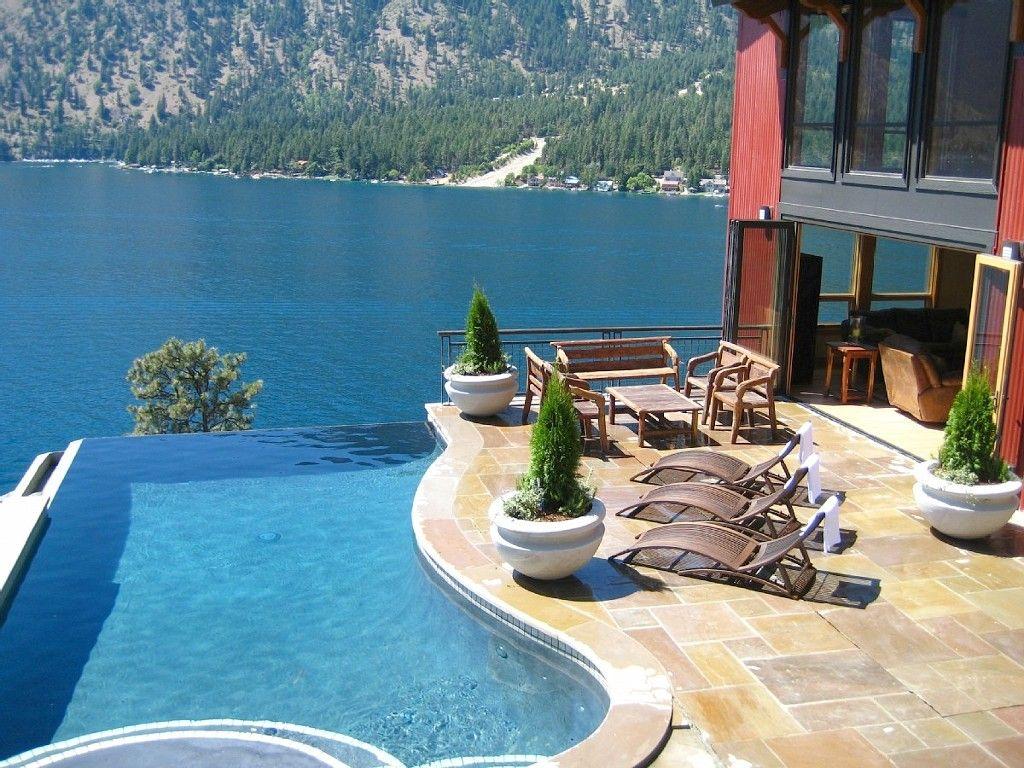 Villa Florenza Pool Spa Lake Chelan Wa Possible Venue Al