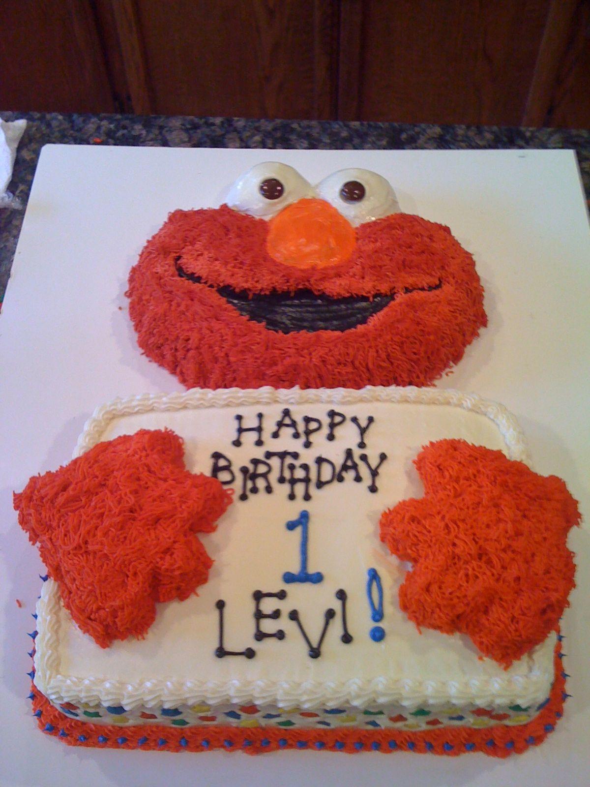 Elmo cake elmo cake homemade cakes cake