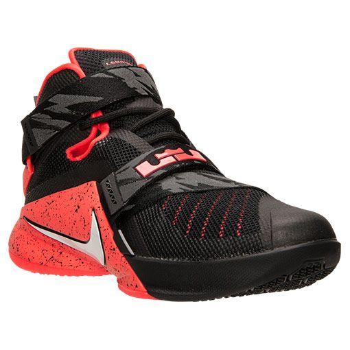 big sale 05ce2 eca94 Men's LeBron Soldier 9 PRM Basketball Shoes - 749490 016 ...