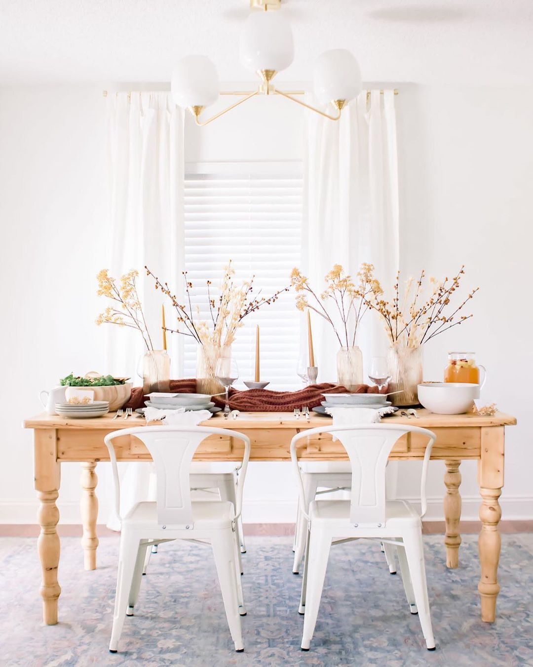 Amazon Home On Instagram Raise Your Hand If You Are Ready For Fall Aka All Things Season We Are Loving Th Fall Tablescapes Decor Dining Room Inspiration