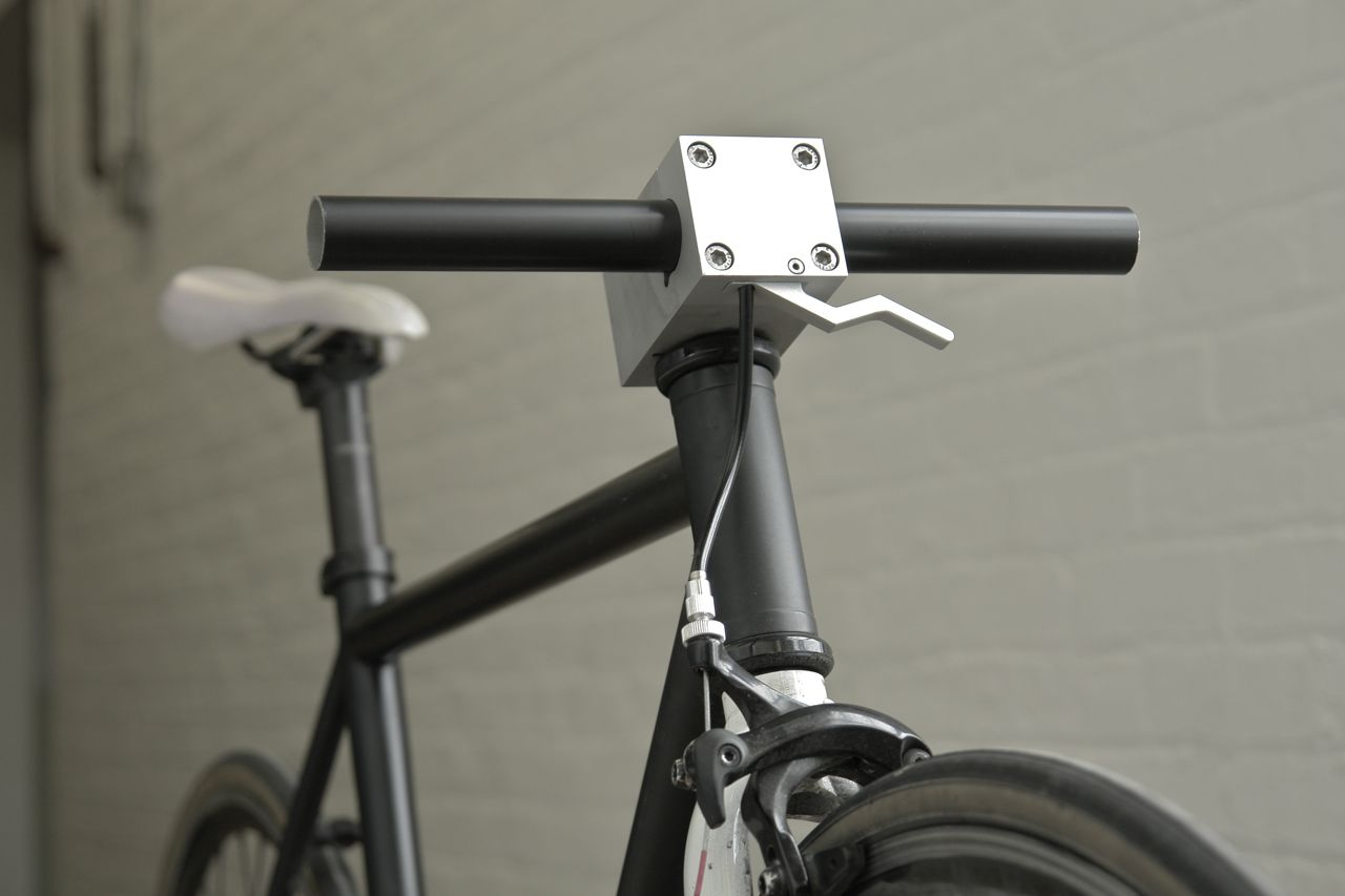 Blockhead Stem IB The sturdiest bicycle stem with an integrated brake lever.