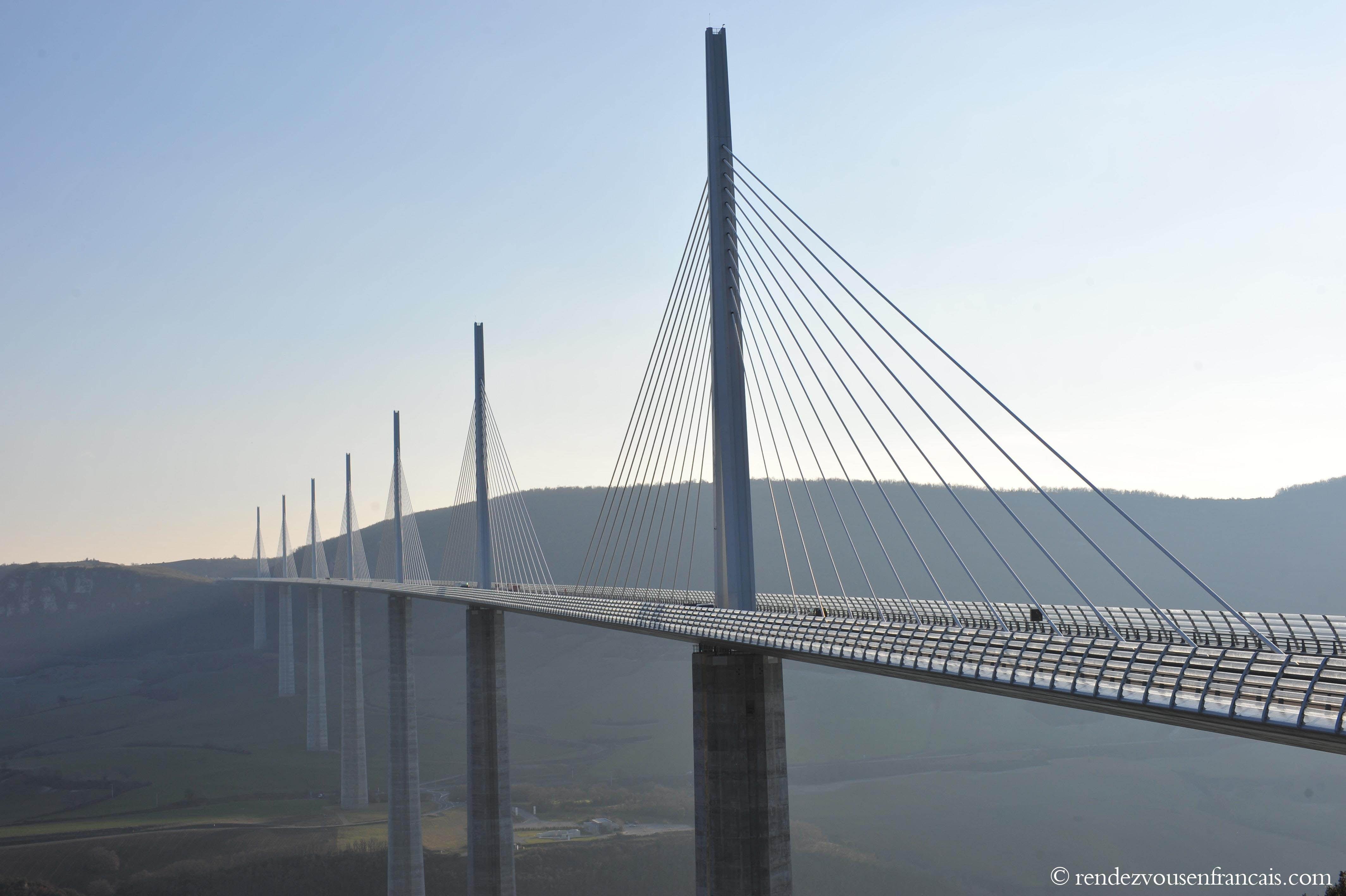 Millau Viaduc Highest Bridge In The World