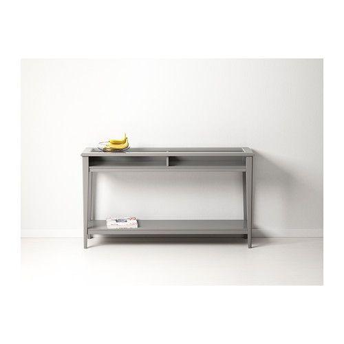 LIATORP Sivupöytä, harmaa, lasi 159,- / kpl