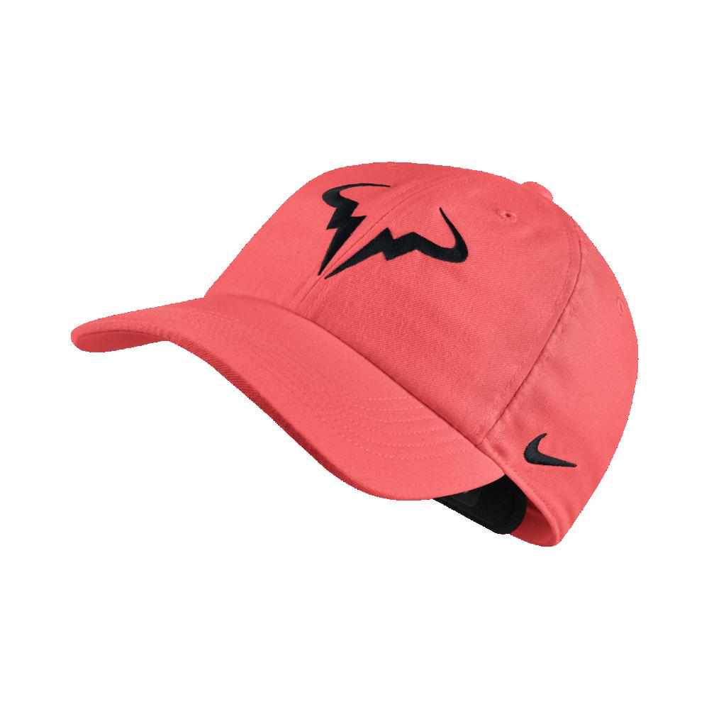 2870cc535d759 Nike NikeCourt AeroBill H86 Rafael Nadal Adjustable Tennis Hat ...