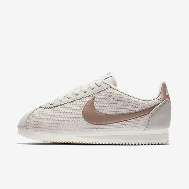 new style 71127 2ffd5 Nike Classic Cortez Leather Lux - sko til kvinder