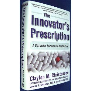 "@ehealthgr suggested this book and I found about Clayton M. Christensen, a  Harvard Business School Professor http://drfd.hbs.edu/fit/public/facultyInfo.do?facInfo=pub&facId=6437  Christensen applies the principles of disruptive innovation to the broken health care system with two pioneers in the field—Dr. Jerome Grossman and Dr. Jason Hwang. Together, they examine a range of symptoms and offer proven solutions.  YOU'LL DISCOVER HOW  ""Precision medicine"" reduces costs and makes good on the…"