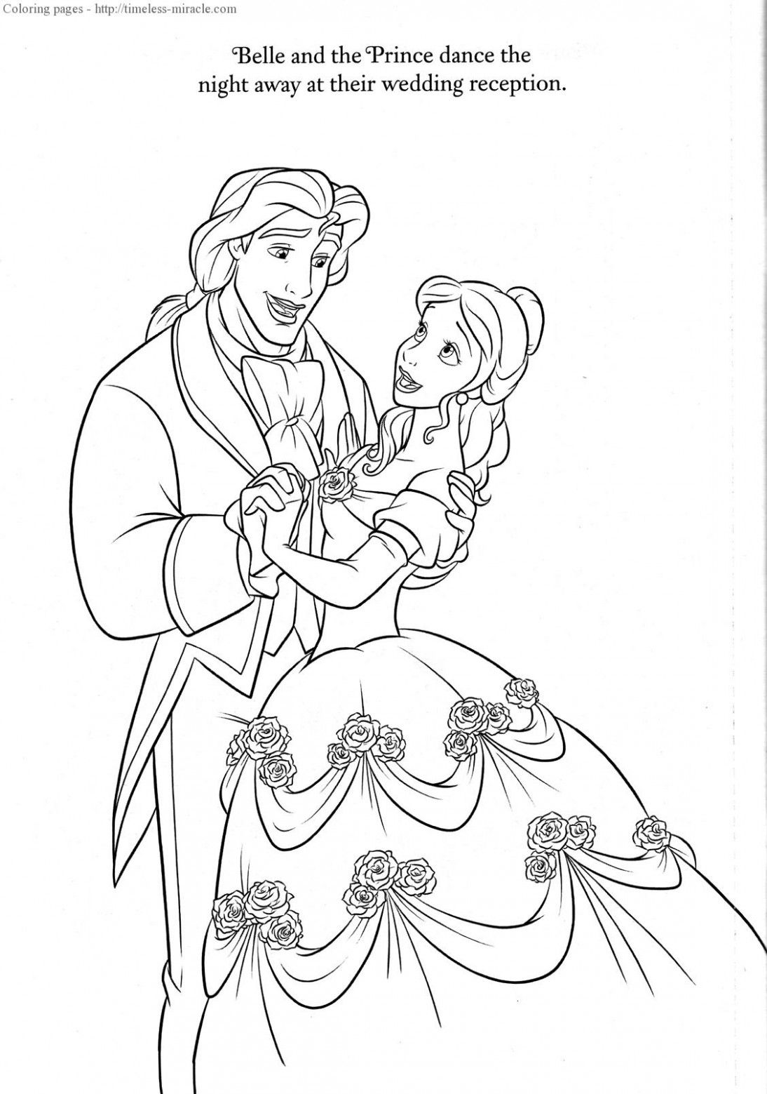 Disney Wedding Drawing Coloring Pages Disney Coloring Pages Love Coloring Pages Wedding Coloring Pages