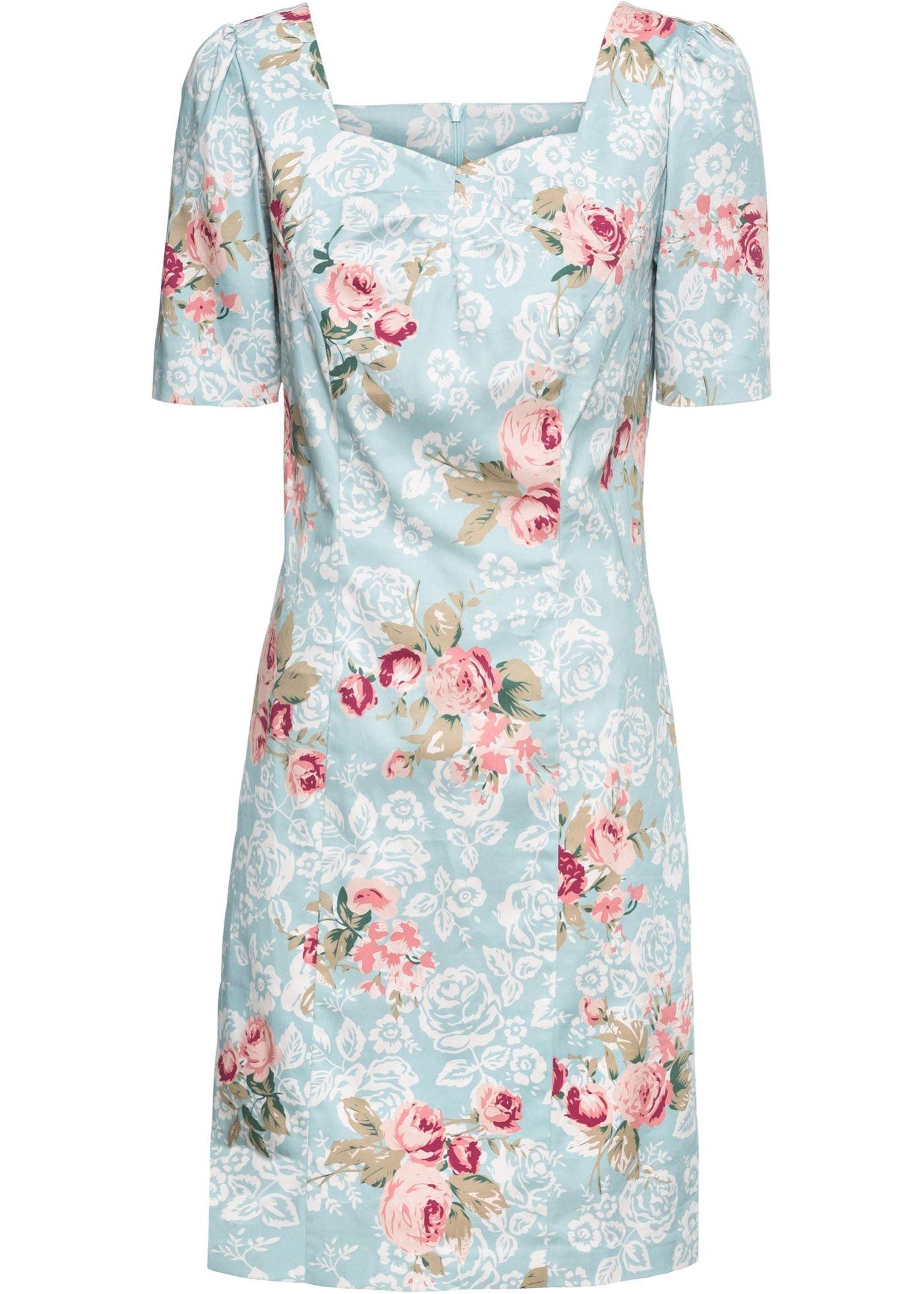 Kleid mit Blumenprint in 12  Kleider, Neues kleid und Blumenprint