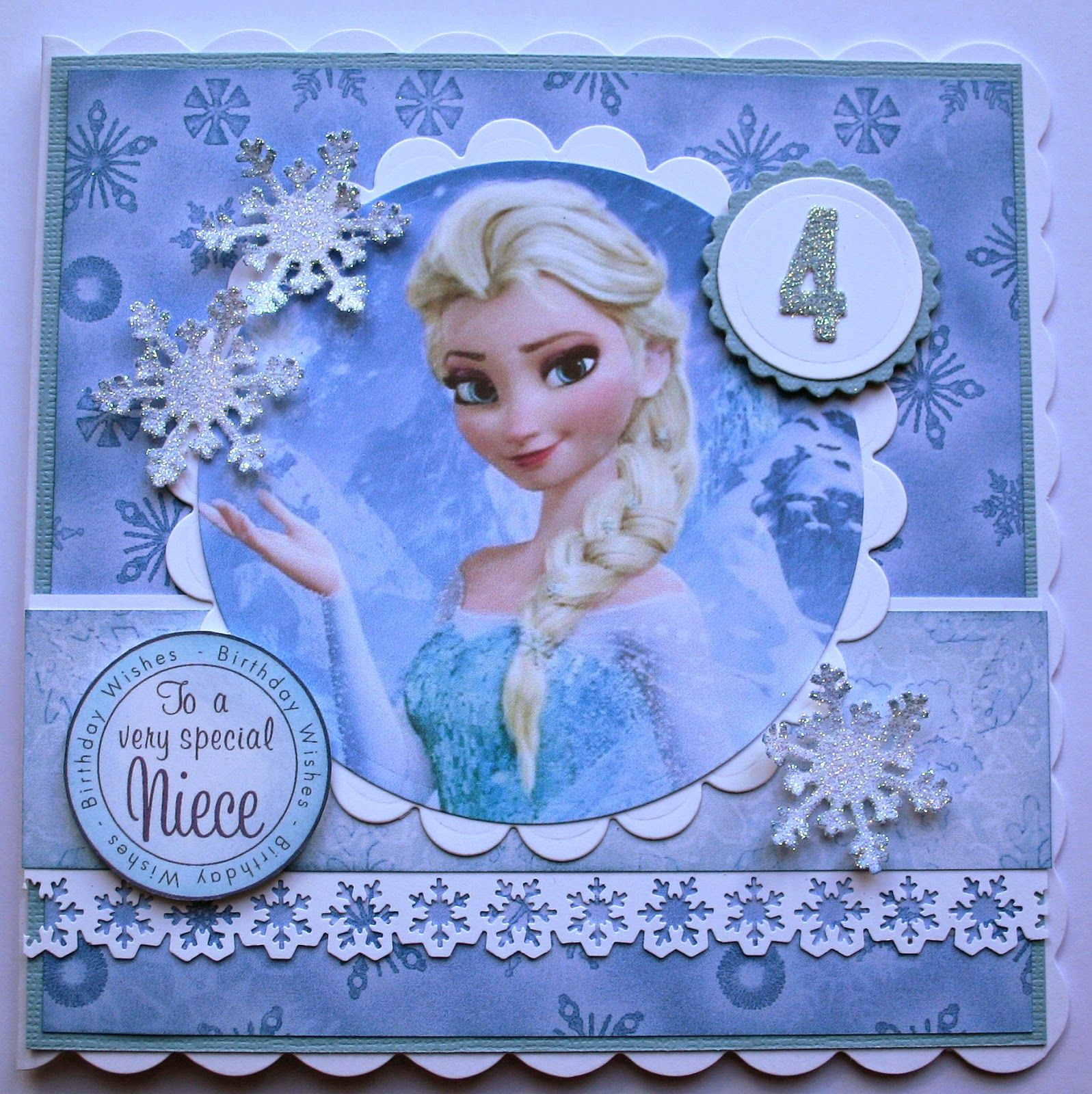 lynsey's place a frozen card and a sweetie cart  frozen