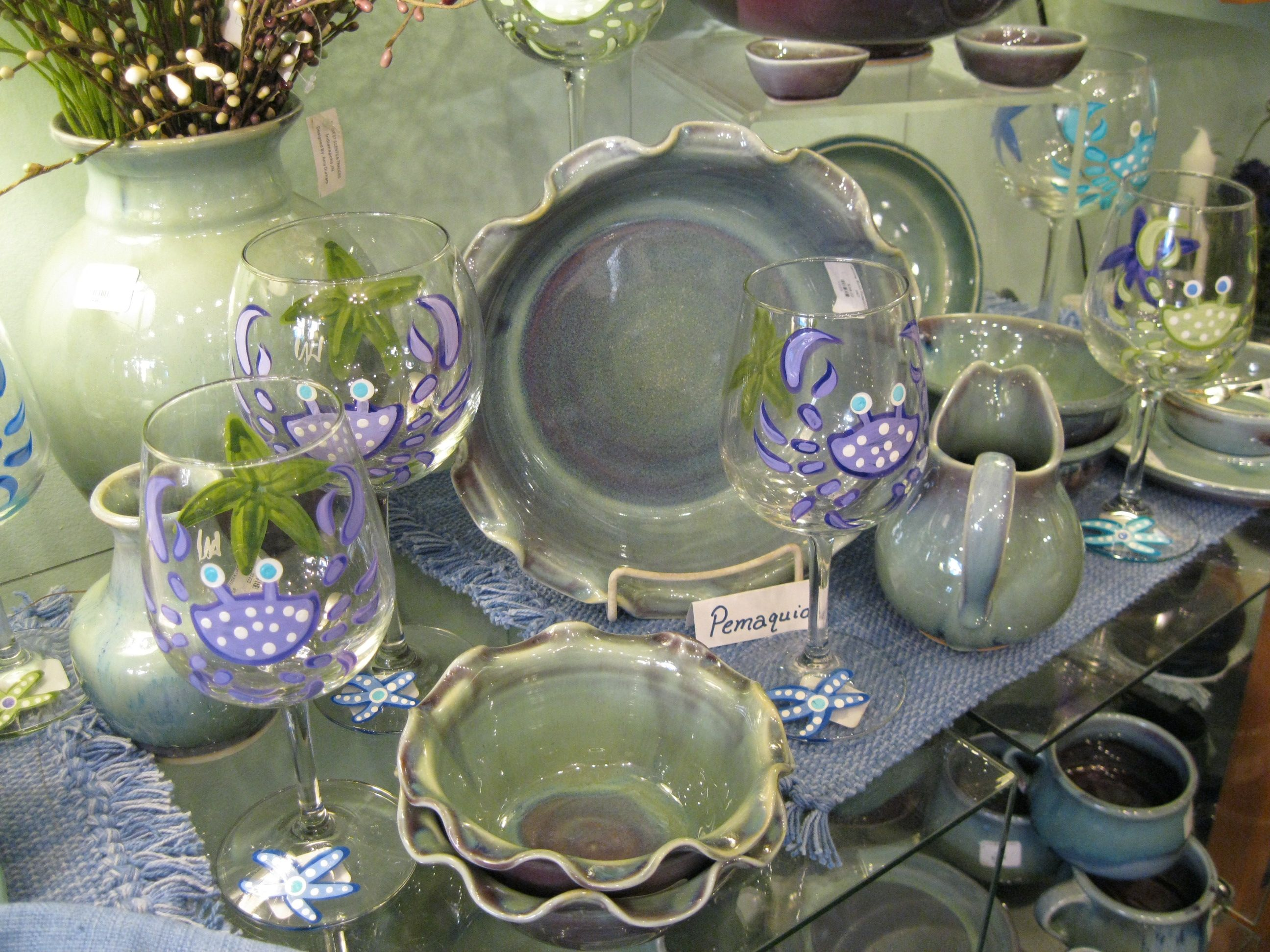 Hand thrown Maine pottery & Hand thrown Maine pottery | Sheepscot River Pottery | Pinterest ...