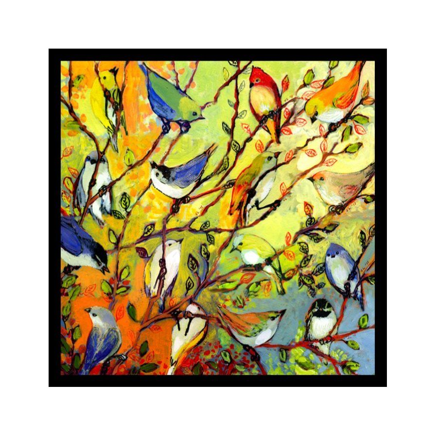 Tree Birdies - Colorful of Birds in a Tree\' by Jennifer Lommers ...