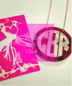 Three Hip Chicks is the leading retailer of Moon and Lola personalized and monogrammed jewelry!