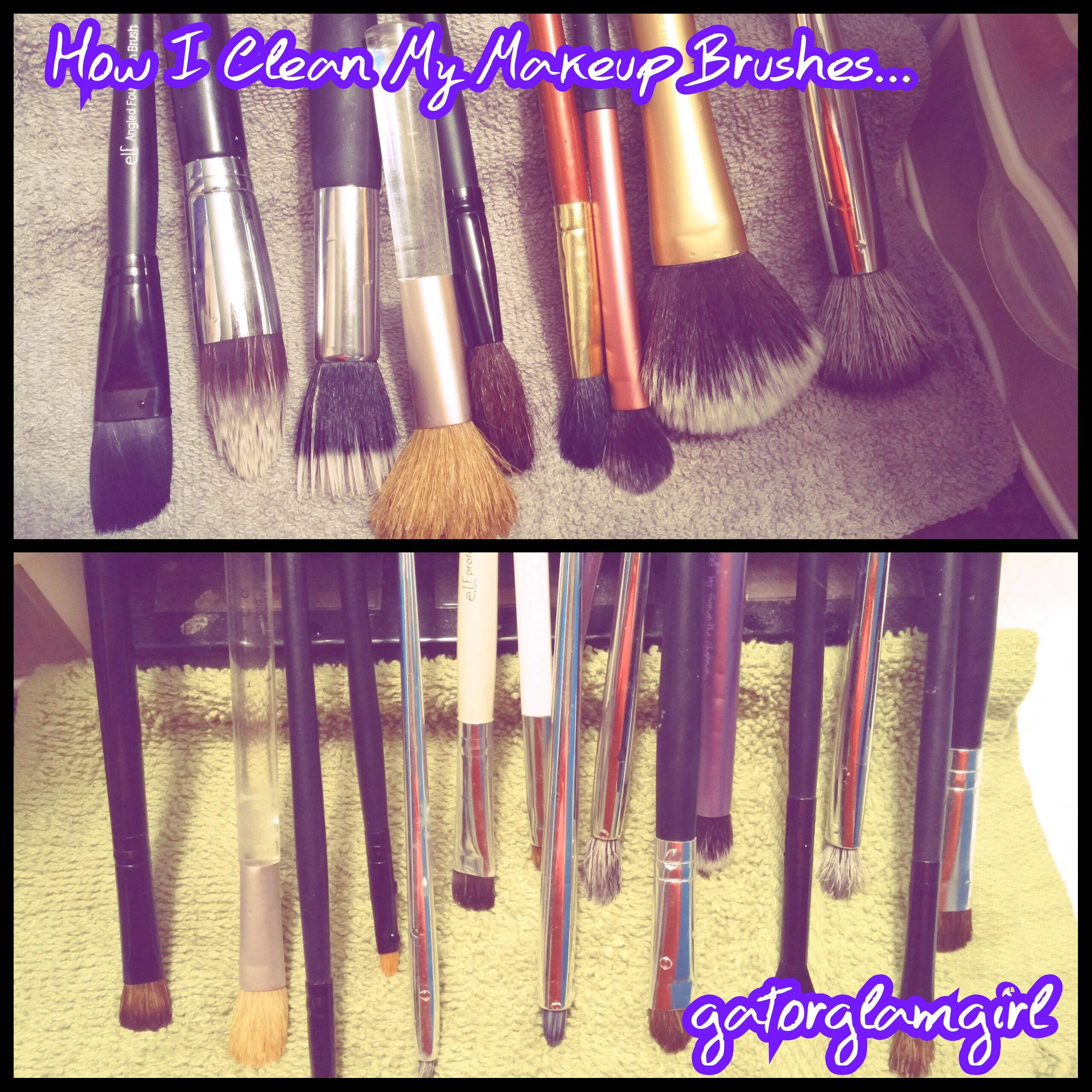 Cleaning Makeup Brushes with Ivory Soap Eye makeup