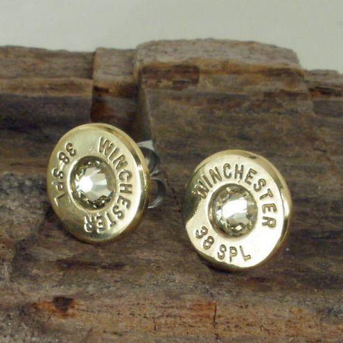 Bullet Casing Earrings--neat idea