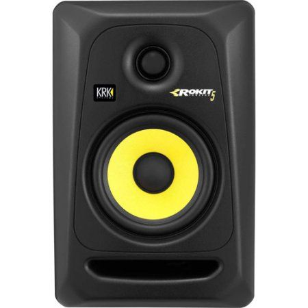 krk rp5g3 rokit 5 generation 3 powered studio monitor black