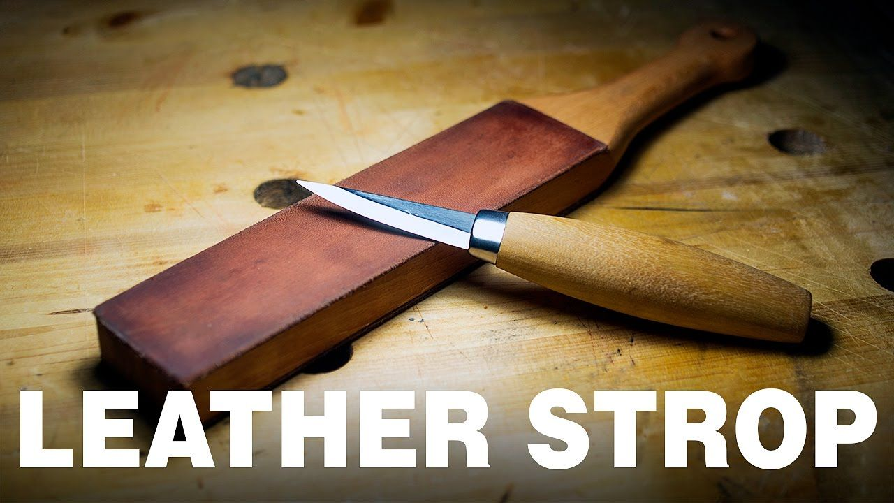 How To Make A Leather Strop How To Make Your Knife Razor Sharp