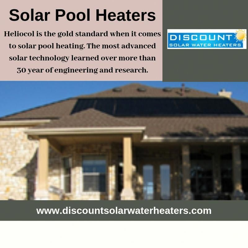 Heliocol Is The Most Advanced Solar Pool Heating Product Available Today If You Are Looking For Helicol Solar In 2020 Solar Pool Solar Pool Heating Solar Water Heater