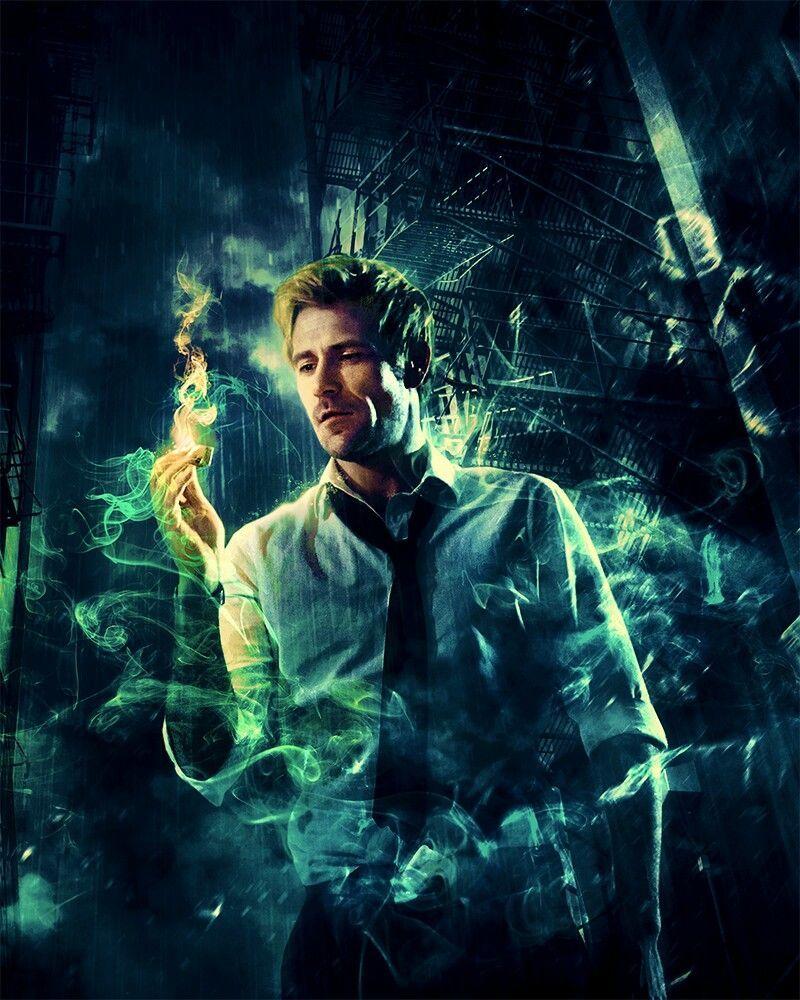 John Constantine Que E Um Anti Heroi Protagonista Da Serie De Banda Desenhada Hellblazer Matt Ryan Constantine Constantine Tv Constantine Hellblazer
