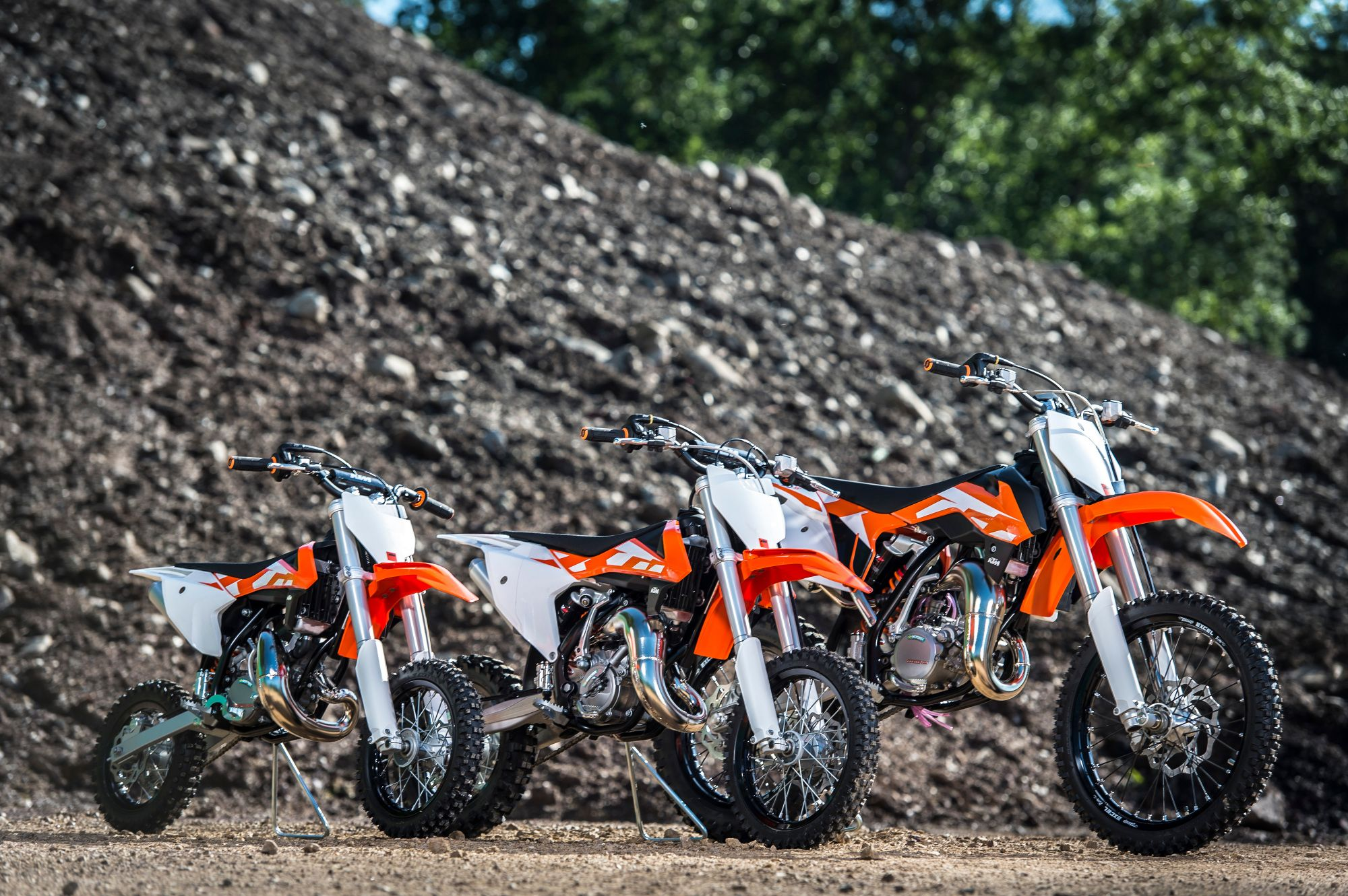 2016 Ktm Sx Range Unveiled Bikecycles Motorcycles 2014 350 F Wiring Diagram The Mini 50 65 And 85