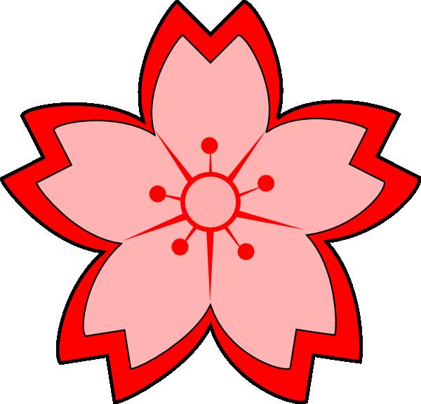Images Of Japanese Culture Sakura The Symbol Of Japan Cartoon Clip Art Flower Clipart Flower Clipart Png