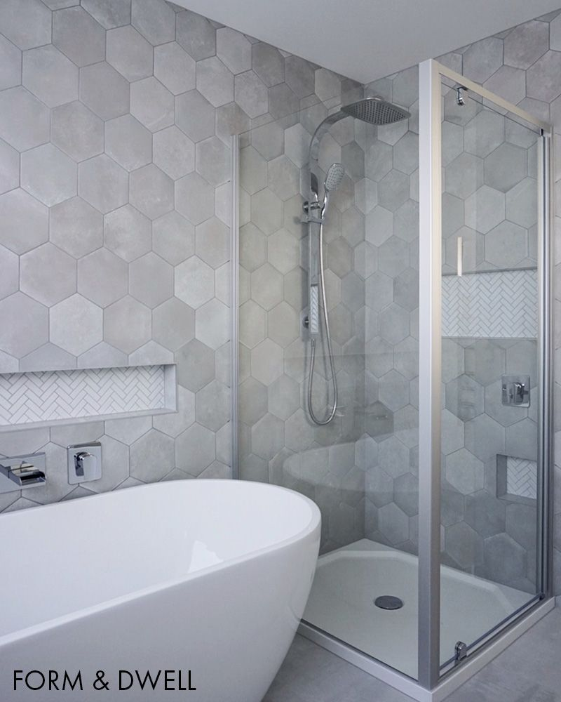 Nord Ris Hex 20 Floor and Wall Tiles | TileSpace - Tiles co nz