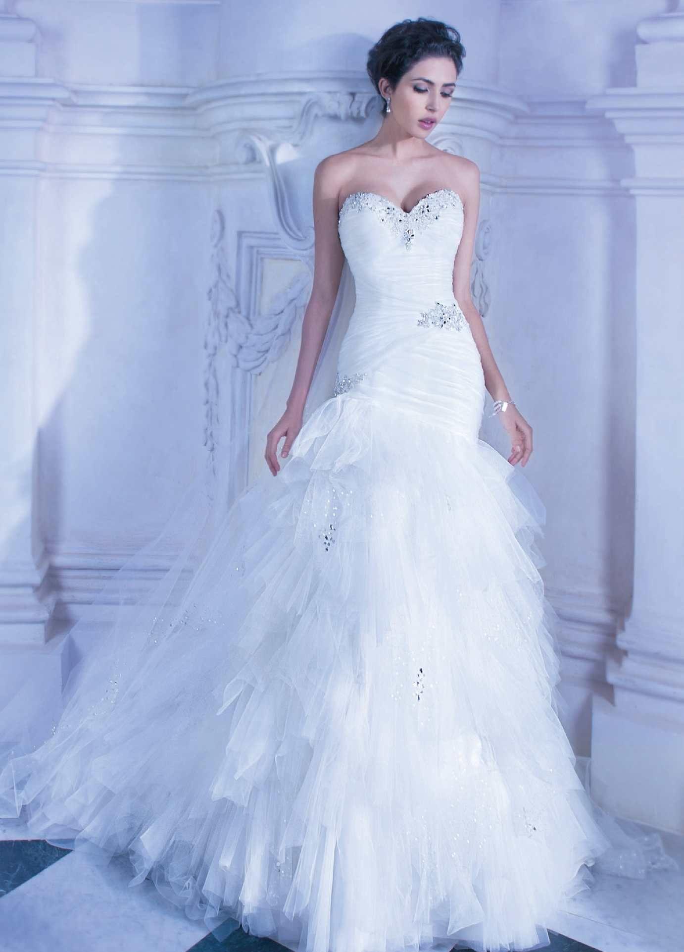 Demetrios 2014 Tendance robe de mariée, Robes de mariée